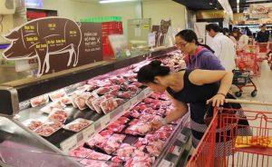 Giá thịt heo sẽ bình ổn trong tết