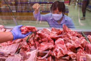 Giá bán thịt heo tại trung tâm