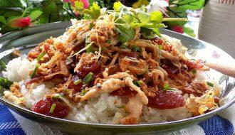 Những món xôi mặn ngon nức tiếng của người Việt Nam